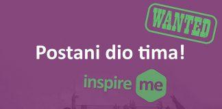 WANTED - Postani dio tima Inspire Me konferencije