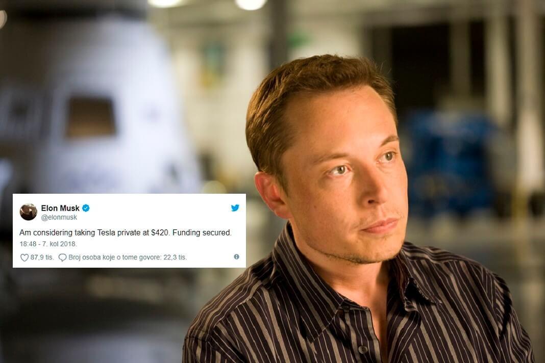 Elon-musk-privatizacija-Tesla-SEC-optuzba