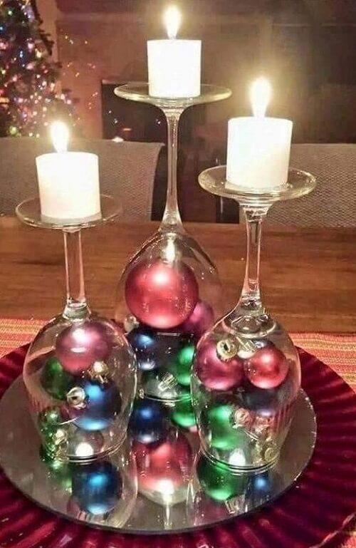 stol_bor_blagdanska_dekoracija_božić_diy_čaše