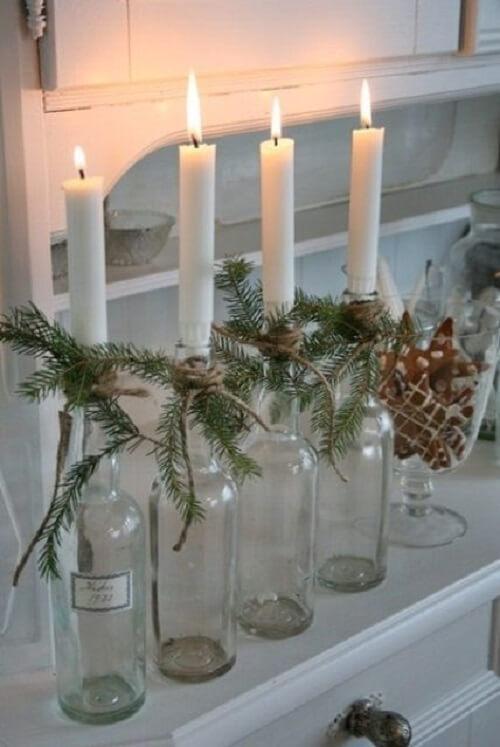 stol_bor_blagdanska_dekoracija_božić_diy_boce