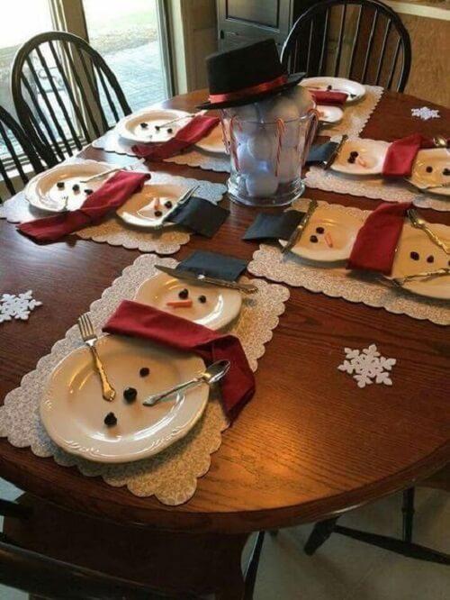 stol_bor_blagdanska_dekoracija_božić_diy_snjegovic