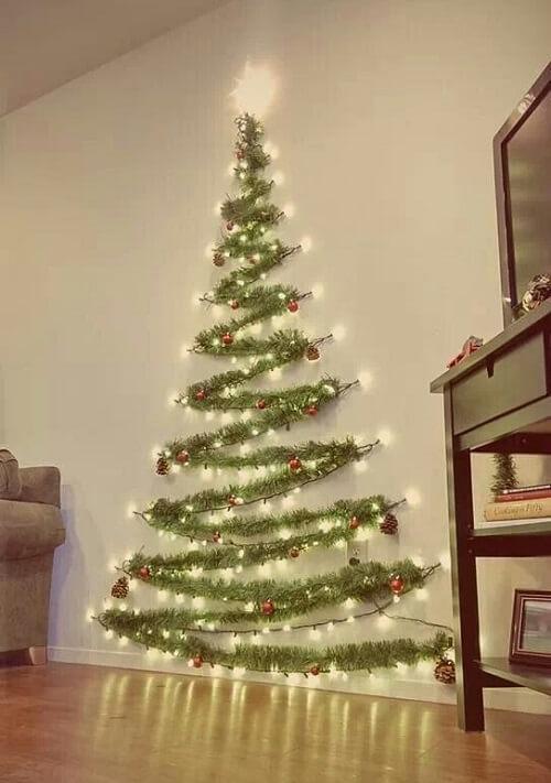 zid_blagdanska_dekoracija_božić_diy_bor